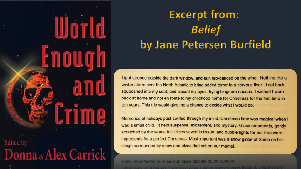 EFD2 - World Enough EXCERPTS Burfield Jane