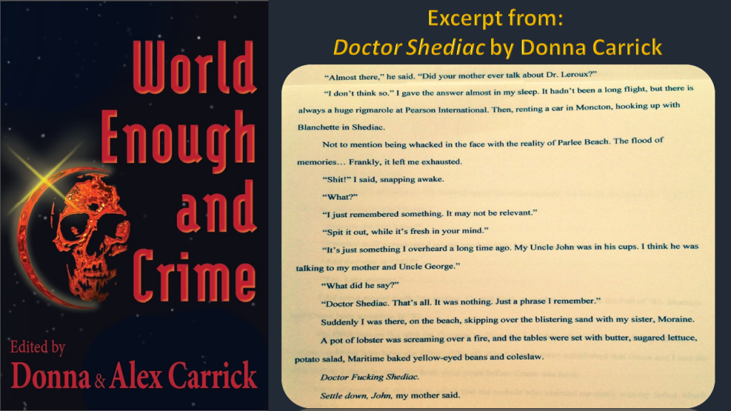 EFD2 - World Enough EXCERPTS Carrick Donna
