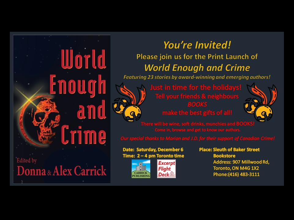 World Enough Sleuth Collage Dec.6 1